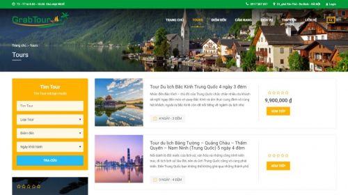 Thiết Kế Website du lịch với Theme TravelWP