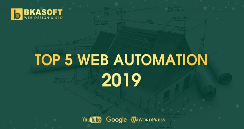 TOP 5 Website Automation 2019 được vinh danh