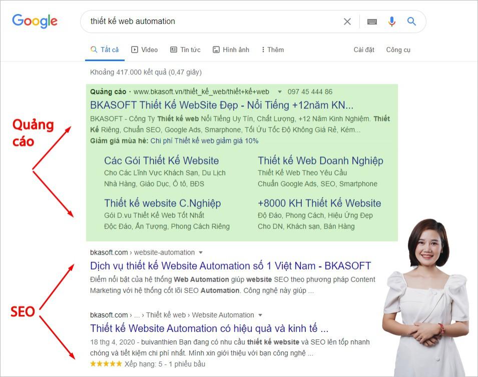 SEO là gì? Cách thức Google xếp hạng kết quả tìm kiếm