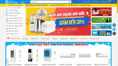 Thiết kế website điện máy ở đâu tốt nhất, rẻ nhất?