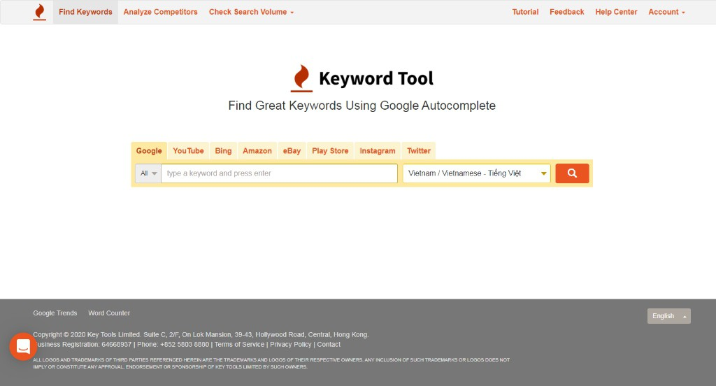 Hỏi các công cụ seo miễn phí hỗ trợ SEO Web 2020?