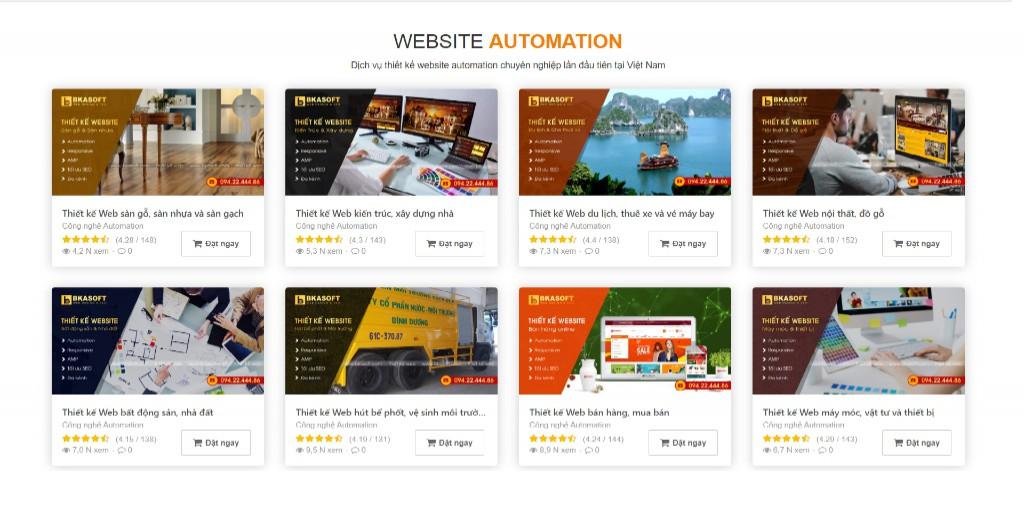 Bên nào thiết kế website chuẩn SEO tại Hà Nội?