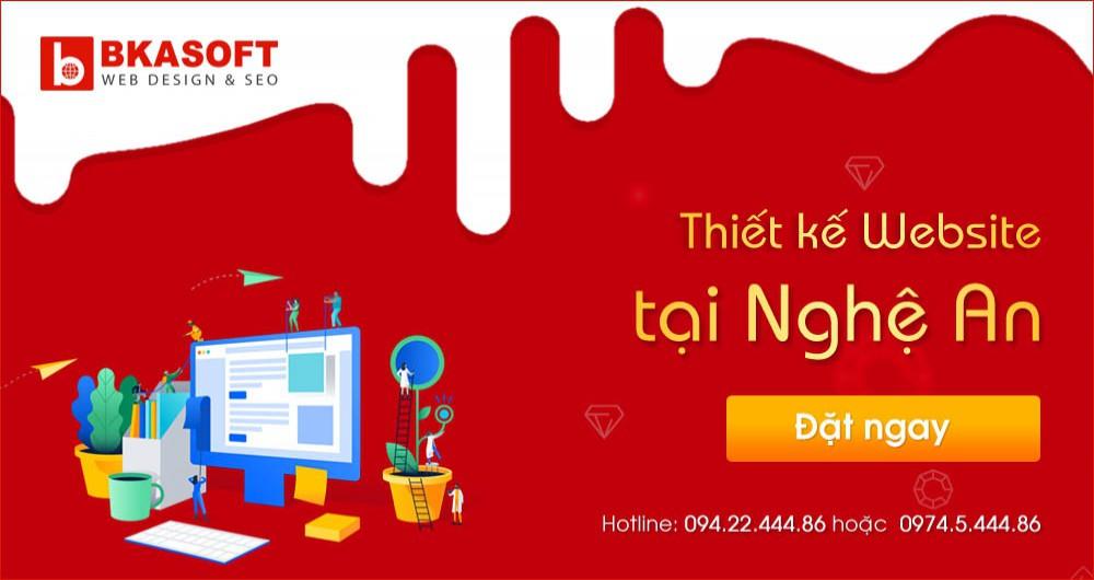 Thiết kế Website tốt nhất tại Nghệ An