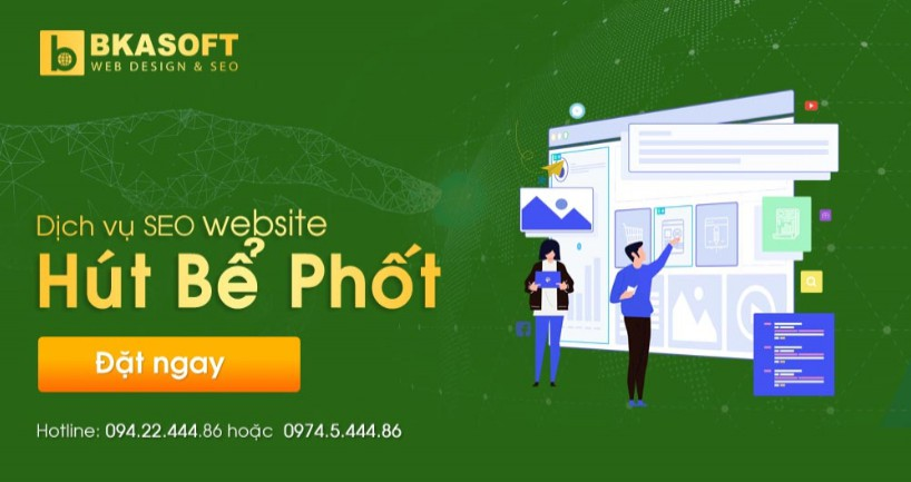 Hỏi thuê công ty thiết kế website hút hầm cầu uy tín?