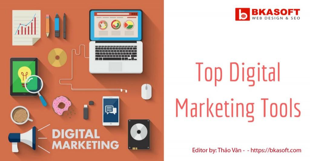 Top phần mềm marketing phổ biến