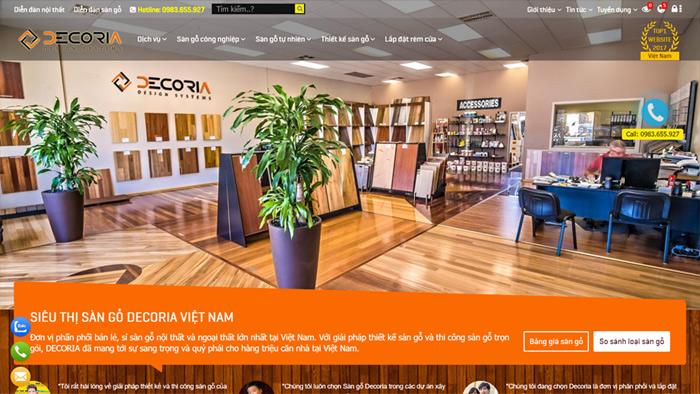 Decoria.vn - Bán & Thi công sàn gỗ