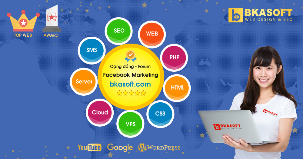 Diễn đàn, Forum - Cộng đồng Facebook Marketing, Facebook Ads - BKASOFT
