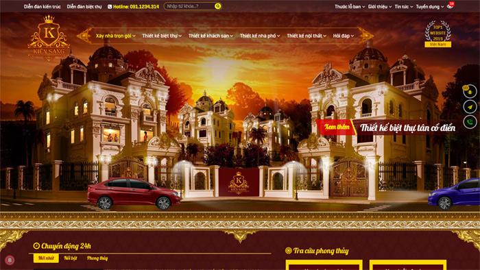 Kiensang.com - Thiết kế kiến trúc