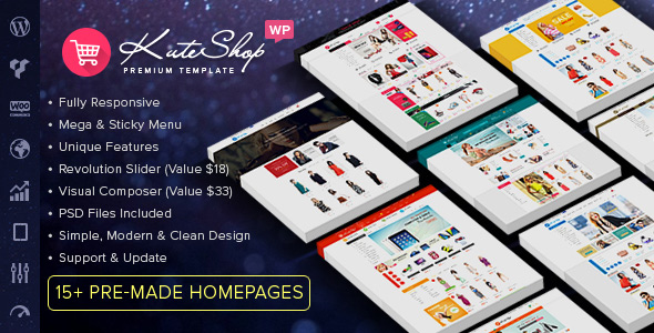 KuteShop - Multipurpose WooCommerce Theme