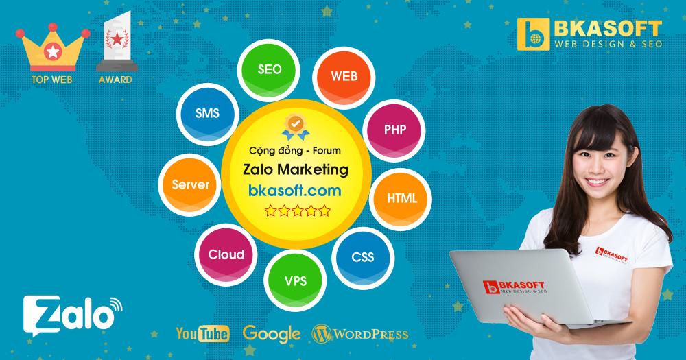 Diễn đàn, Forum - Cộng đồng hỏi đáp Zalo Marketing - BKASOFT