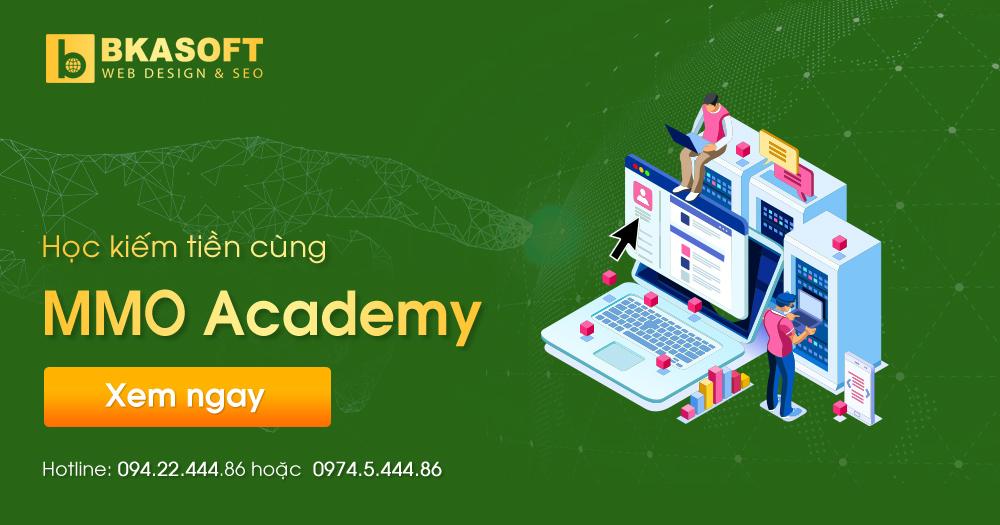 MMO Academy - Diễn đàn học kiếm tiền Online miễn phí - BKASOFT